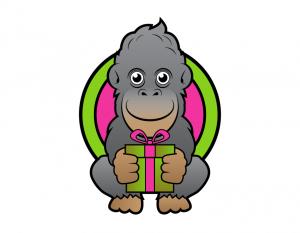 Izvirna darila pri Gorili