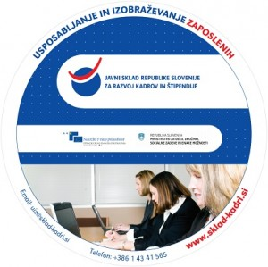 Javno povabilo za zbiranje ponudb v okviru programa Usposabljanje in izobraževanje zaposlenih