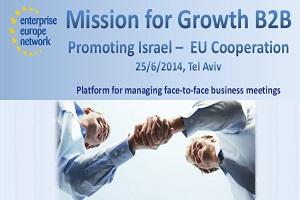 Odlična priložnost za slovenska podjetja – udeležba na gospodarski misiji v Izrael