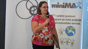 Mlada podjetnica leta 2014 je Jana Fleišer